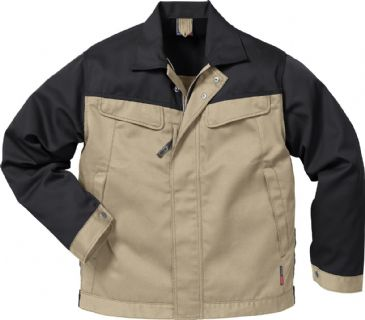 Fristads Icon Jacket 4857 Luxe 109321 (Khaki/Black)